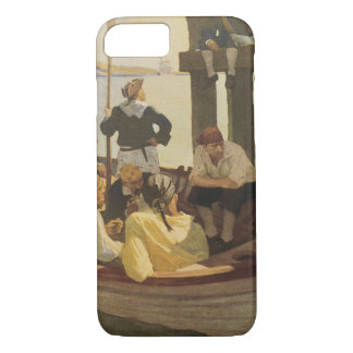 At Queen's Ferry by NC Wyeth, Vintage Pirates iPhone 8/7 Case