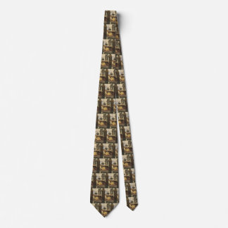 At Queen's Ferry by NC Wyeth, Vintage Pirates Neck Tie
