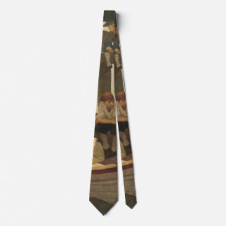 At Queen's Ferry by NC Wyeth, Vintage Pirates Tie