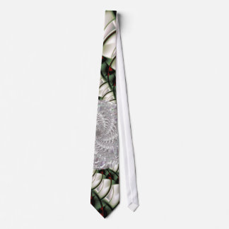At Rest Abstract Fractal Art Tie