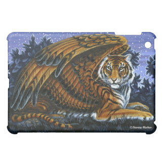 At Rest Winged Tiger iPad Case