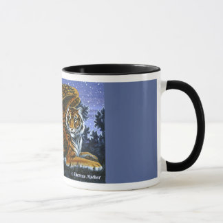 At Rest Winged Tiger Mug