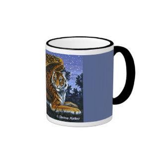 At Rest Winged Tiger Mug