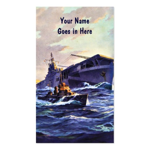At Sea Business Cards