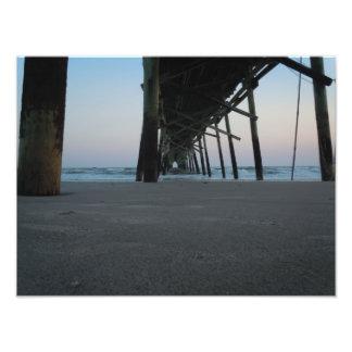 At Sea Level - Oak Island NC Art Photo