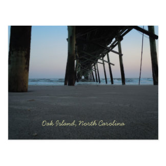 At Sea Level - Oak Island, NC Postcard