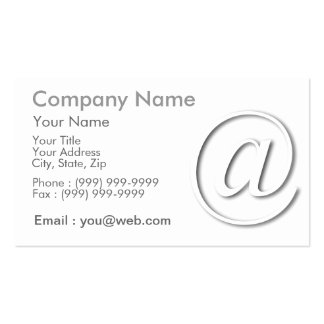 at shades business cards