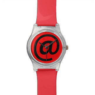 At Sign Wristwatch