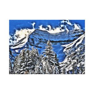 At Sundance Resort in Utah Stretched Canvas Print