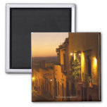 At sunset. 2 inch square magnet