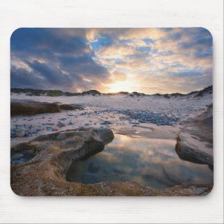 At Sunset In A Puddle Mouse Pad