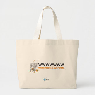 AT&T shopping bags