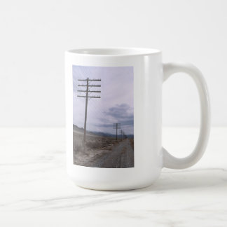 AT&T Transcontinental Lead Prior To Line Wrecking Classic White Coffee Mug