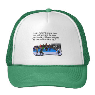 At-the-Airport-Bar Trucker Hat