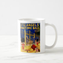 At the angels ragtime ball coffee mug