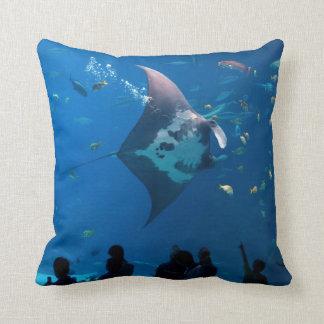 At the Aquarium MoJo Pillow