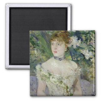 At The Ball, Berthe Morisot Fine Art Magnet