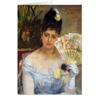 At the Ball by Berthe Morisot Cards