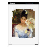 At the Ball by Berthe Morisot Decal For The iPad 2
