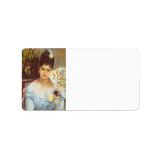 At the Ball by Berthe Morisot Personalized Address Label