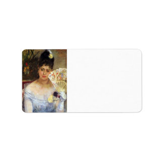 At the Ball by Berthe Morisot Address Label
