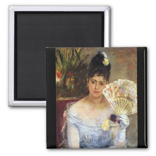 At the Ball by Berthe Morisot Magnet