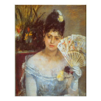 At the Ball by Berthe Morisot Posters