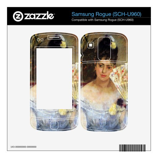 At the Ball by Berthe Morisot Decals For Samsung Rogue