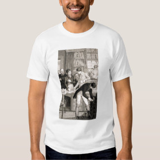 At the Bank, c.1800 (engraving) T-shirt
