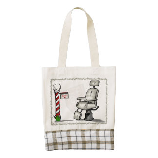 At The Barber Shop Zazzle HEART Tote Bag