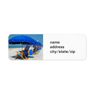 AT THE BEACH ADDRESS LABELS