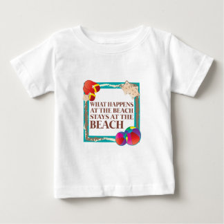At The Beach Baby T-Shirt