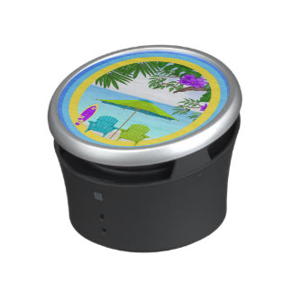 At The Beach Bumpster Speakers Bluetooth Speaker