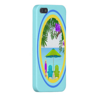 At The Beach Case Savvy iPhone 5 Case For iPhone 5/5S