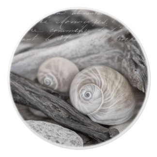 At the beach ceramic knob
