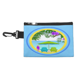 At The Beach Clip On Accessory Bag