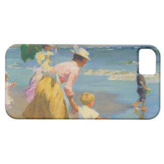 At The Beach - Edward Potthast iPhone SE/5/5s Case