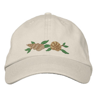 At the Beach Embroidered Baseball Cap