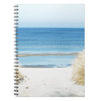 at the beach notebook