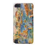 At the beach of Guernesey by Alfred Sisley iPod Touch (5th Generation) Covers