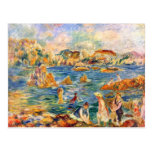 At the beach of Guernesey by Alfred Sisley Postcard