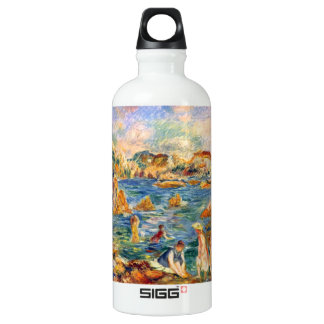 At the beach of Guernesey by Alfred Sisley SIGG Traveler 0.6L Water Bottle