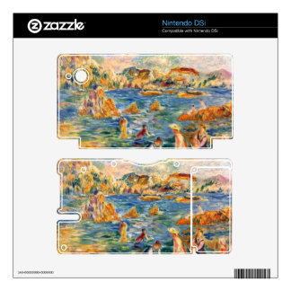 At the beach of Guernesey by Alfred Sisley Nintendo DSi Skin
