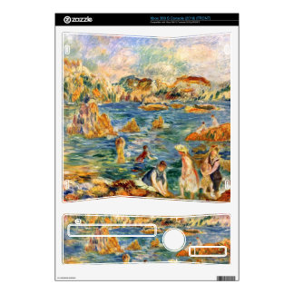 At the beach of Guernesey by Pierre Renoir Skin For Xbox 360 S