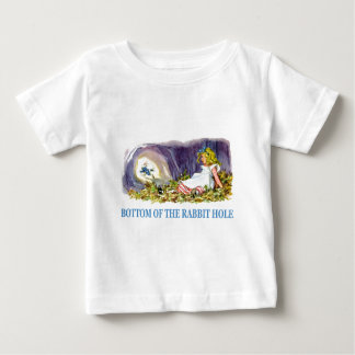 At the bottom of the rabbit hole tee shirts