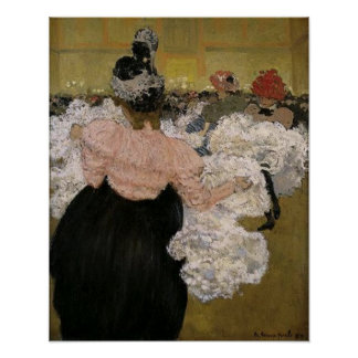 At the Burlesque by Henri Evenepoel Print
