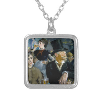 At the Cafe by Edouard Manet Custom Jewelry