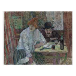 At the Cafe La Mie by Toulouse-Lautrec Archival Poster