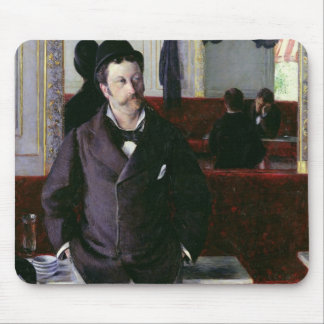 At the Cafe, Rouen, 1880 Mouse Pad