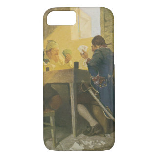 At the Cards in Cluny's Cage by NC Wyeth iPhone 8/7 Case
